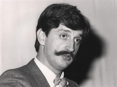 Fernando Huici March, en torno a 1984. Foto: Fundación Juan March. Añadido por webmaster