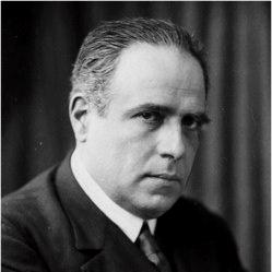 Eugenio dOrs (1881-1954). En la foto entorno los años 30