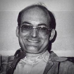 Luis Gordillo entorno a 1984. Foto: Buades