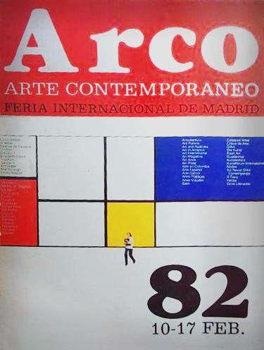 Portada del catalogo de ARCO.82