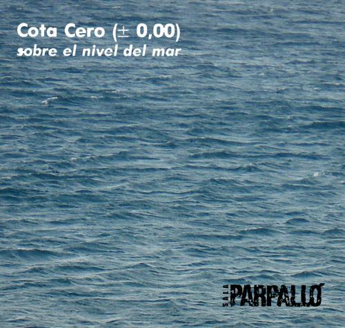 Cota-0 sobre el nivel del mar. Sala Parpallo