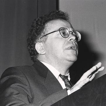 Gerardo Delgado. Foto: Fundación Juan March. 1986