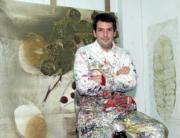 Álvarez Basso, en su estudio en Madrid. ÁNGEL DE ANTONIO Y ABC