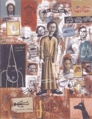 El Buen Fin. Óleo sobre lienzo. 200x200 cm. Año 2003