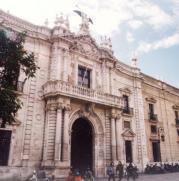 La antigua Fábrica de Tabacos se convertiría en eje de la «milla de oro cultural». ARCHIVO ABC