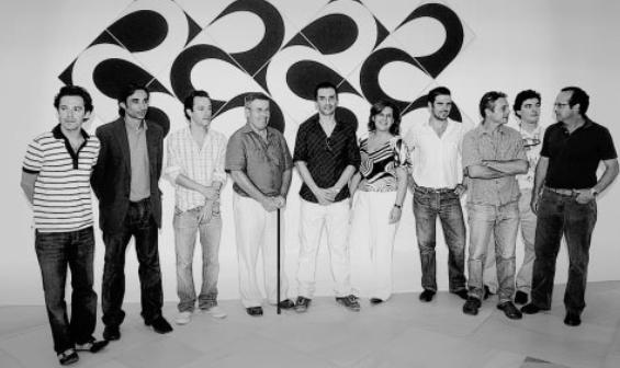 Algunos artistas representados en la colección. Foto extraida ABC