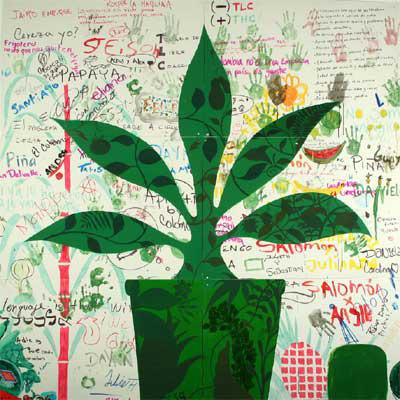 Sombra verde, 2006. Federico Guzmán