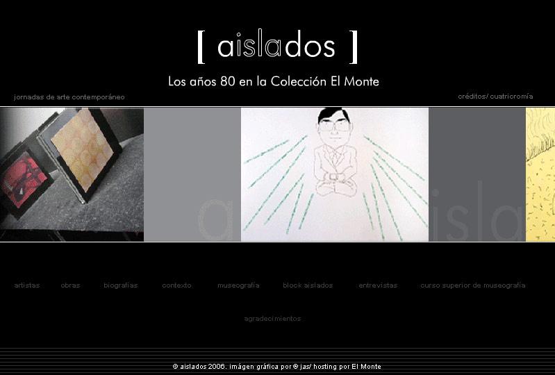 WEB AISLADOS. LOS AÑOS 80 EN LA COLECCION EL MONTE