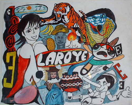A LAROYE1. Rorro Berjano, 30x35cm