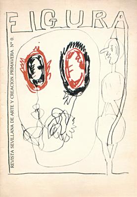 Portada de la Revista FIGURA, nº0. Primavera de 1983. Autor: Luis Gordillo.