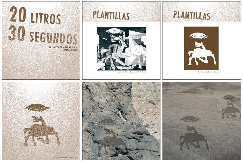 Obra de Daniel Diosdado, artista seleccionados en ARTIFARITI 2007