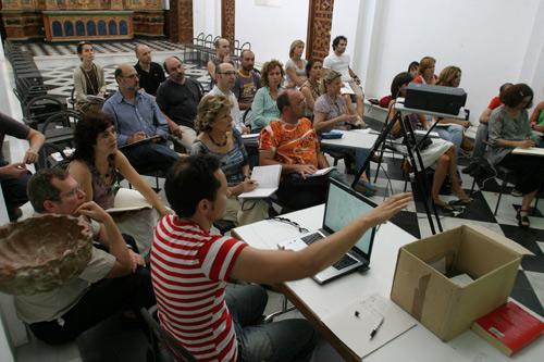 Modernidad y Creación.Taller impartido en el Centro Andaluz de Arte Contemporáneo