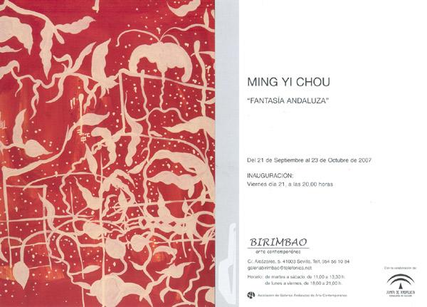 Invitación. FANTASIA ANDALUZA. Ming Yi Chou