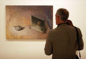 PÉREZ VILLALTA. El pintor gaditano retorna al Museo con una reflexión sobre la condición artística.