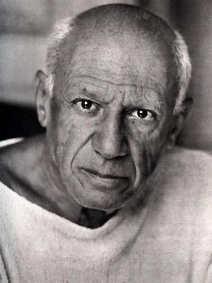 Pablo Ruiz Picasso. Imagen extraida de www.biografiasyvidas.com