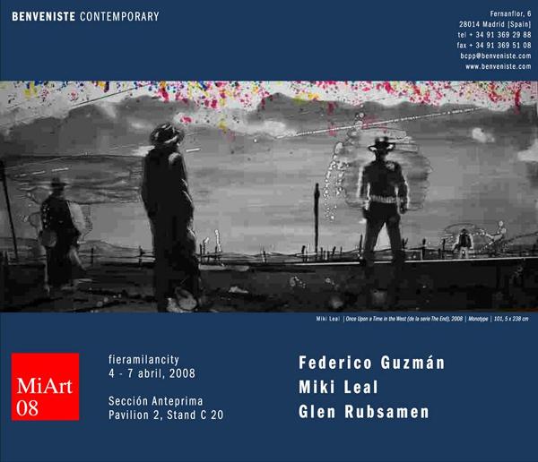 BCP&P Galería en MiArt. Feria Internacional de Arte Moderno y Contemporáneo de Milan