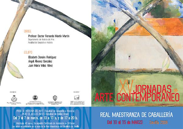 XV Jornadas de Arte Contemporáneo de la Universidad de Sevilla