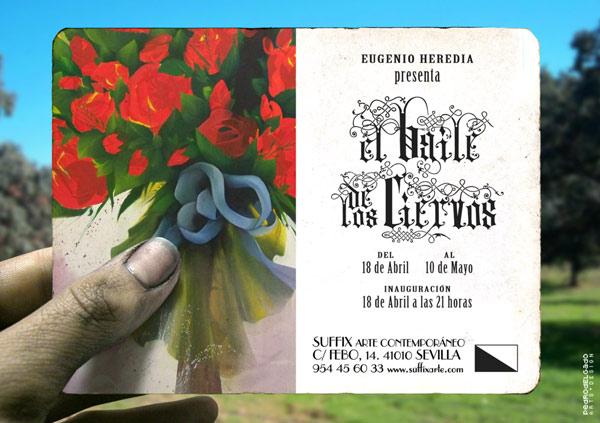 EL BAILE DE LOS CIERVOS. Eugenio Heredia en Suffix Arte Contemporáneo