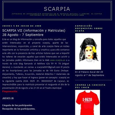 SCARPIA VII. Blog Scarpia