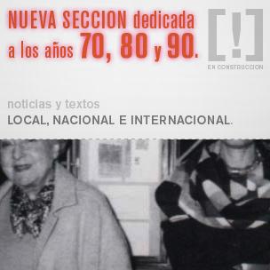 Nueva sección de contenidos en www.losclaveles.info dedicada a la década de los años 70, 80 y 90.