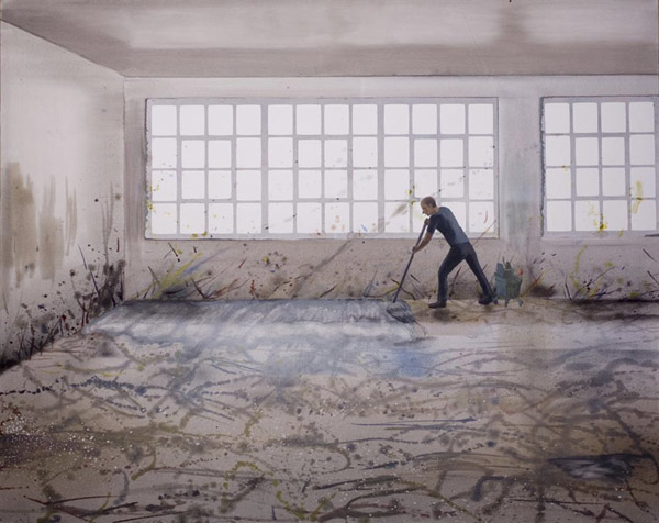 Action Cleaning, 2007. Cristobal Quintero