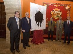 Juan Manuel Bonet, Alfonso Guajardo Fajardo, Manuel Salinas, Eduardo Canorea y Ramón Valencia. MILLÁN HERCE