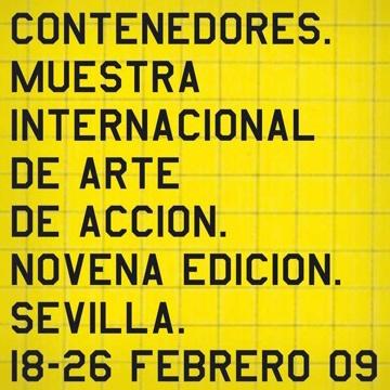 muestra internacional de arte de acción de Sevilla, Contenedores