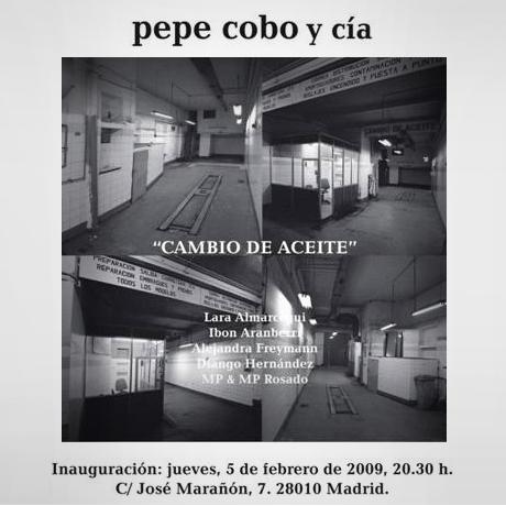 Cambio de aceite. Pepe Cobo y Cía.