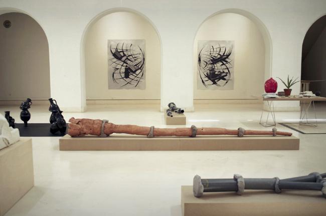 Museo de Cádiz, los jóvenes isleños centran la muestra sobre todo en la escultura, así como las propuestas fotográficas y el dibujo.