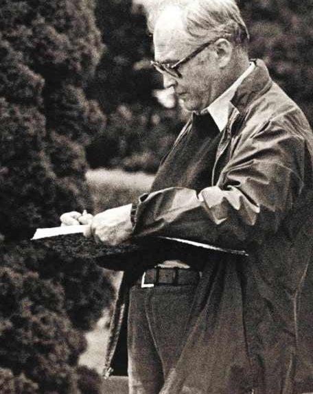 Fernando Zóbel (Manila, 1924 – Roma, 1984). Foto: ISABEL LAFONT - foto el País