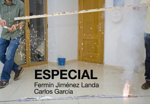 Fermin Jiménez y Carlos García en la Sala La Perrera de Valencia