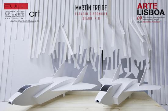 ESPACIO DISPONIBLE, MARTÍN FREIRE. ARTE LISBOA09. GALERIA FULL ART