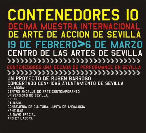Contenedores, la Muestra Internacional de arte de acción de Sevilla llega a su décima edición consolidada como un referente a nivel nacional e internacional