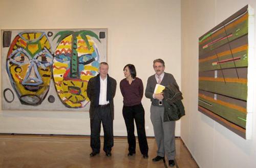 El Palacio de Sástago de Zaragoza acoge la colección de arte 'Gabinete artístico. Colección de Arte Contemporáneo Los Bragales'