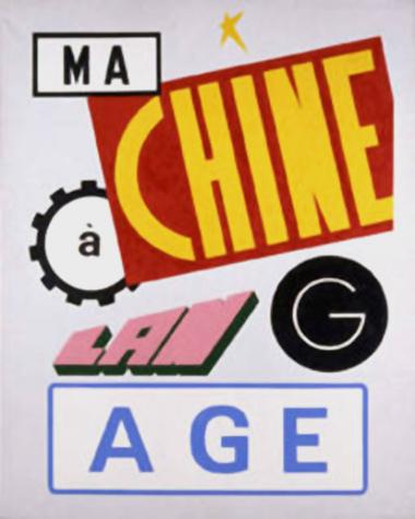 Ma-chine, 1989, © Rogelio López Cuenca