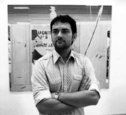El artísta Rubén Guerrero. Foto: Javier Diaz