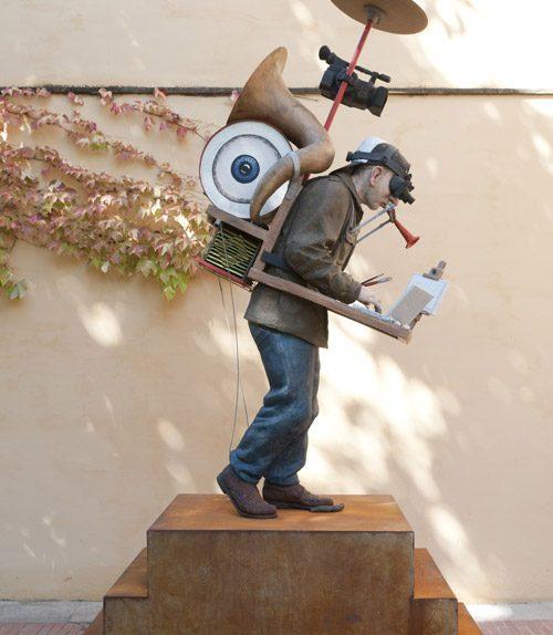 Curro González. Como un monumento al artista. Centro Andaluz de Arte Contemporáneo