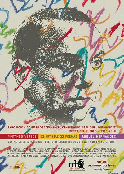 Pintando versos. Centenario de Miguel Hernández