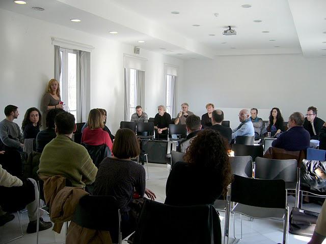 Encuentro de profesionales del arte actual en Andalucía