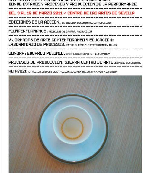 UN FESTIVAL DE PERFORMANCE SIN PERFORMANCES. CONTENEDORES 11