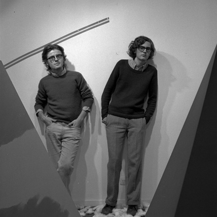Quico Rivas y Juan Manuel Bonet. Foto: Tony Catany, 1972