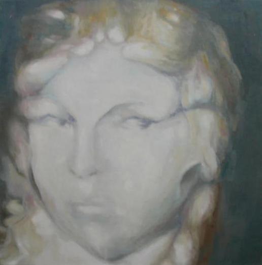 ALICE'S NIGHT. 2011 Óleo sobre lienzo 70 x 70 cm