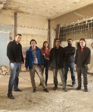 De izquierda a derecha: Esteban Navarro, Miki Leal, María José Solano, Jaime de la Jara, Jacobo Castellano y Abraham Lacalle